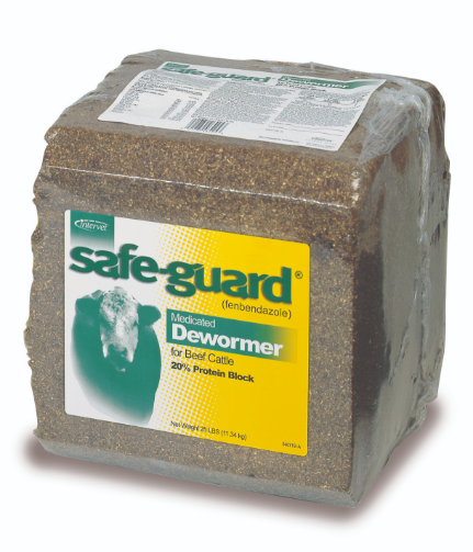 SAFE-GUARD Protein Block for cattle