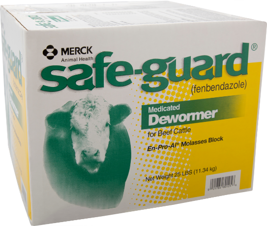 SAFE-GUARD En-Pro-AL® Molasses block for cattle