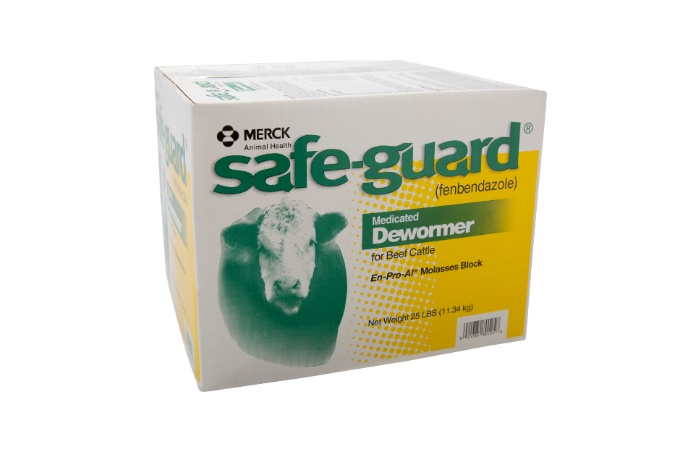 SAFE-GUARD En-Pro-AL® Molasses Blocks for Cattle