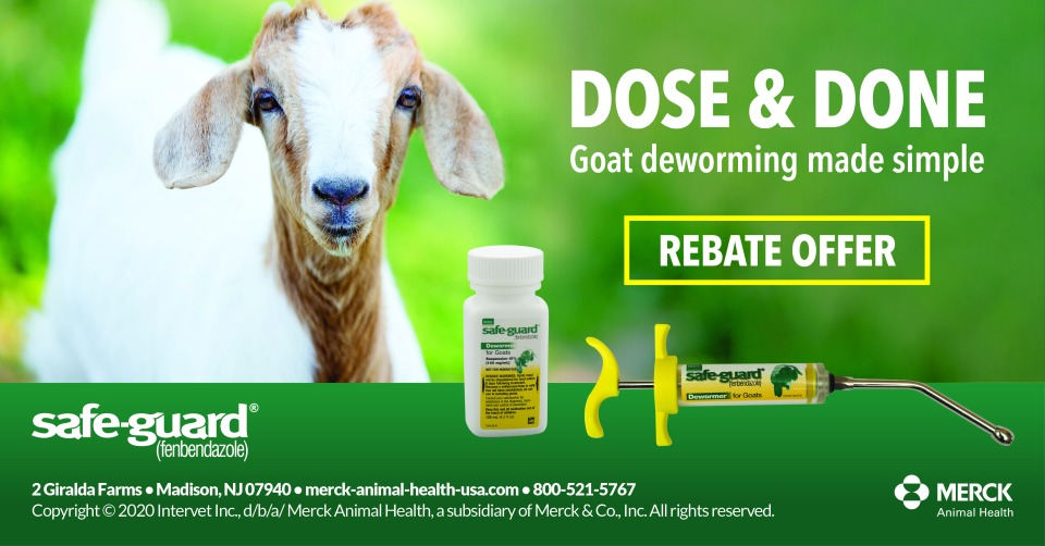 Goat Rebate Offer